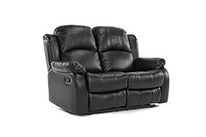 Leather loveseat recliner: a   little bit of leather heaven