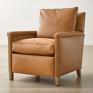 Leather Recliner Chairs | Crate and Barrel