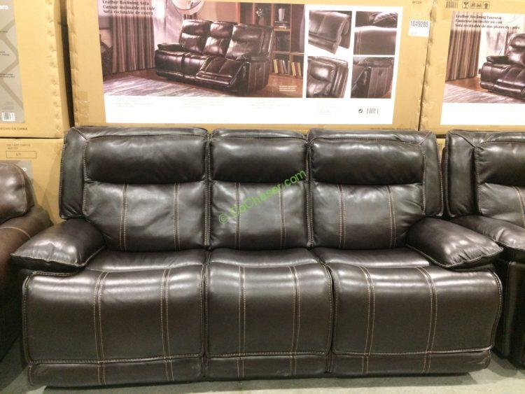 Leather Reclining Sofa & Loveseat u2013 CostcoChaser