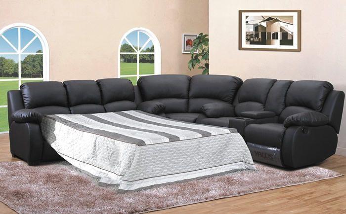 Image for Sectional Sofa Sleeper Leather Sectional Sleeper Sofa | Mk