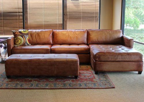 Alluring leather sectional sofa with chaise – CareHomeDecor