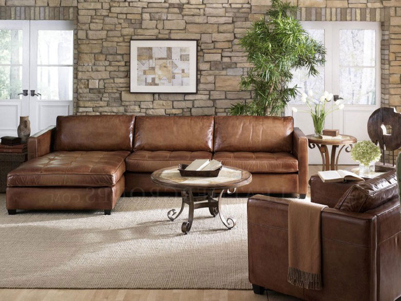 Down Feather Sectional sofa Arizona Leather Sectional sofa with