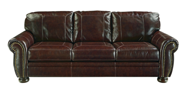 Banner Coffee Leather Sofa - Sofas | Furniture Deals Online