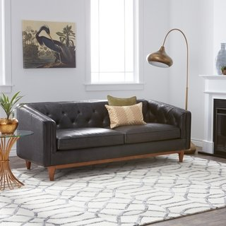 Buy Black, Leather Sofas & Couches Online at Overstock | Our Best