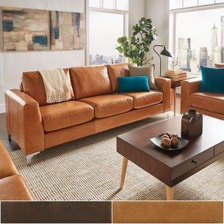 How to identify the best   leather sofa deals