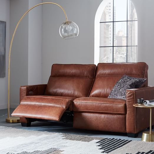 Henry® Leather Power Recliner Sofa (77
