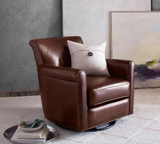 Recliners, Leather Recliners & Swivel Chairs | Pottery Barn