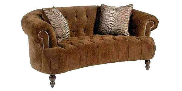 Leather Tufted Loveseat Red u2013 canchao.info