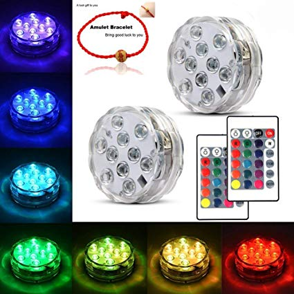 Amazon.com : Underwater Submersible LED Lights Waterproof Multi