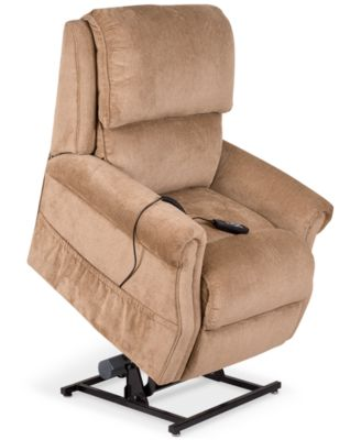 Furniture Raeghan Fabric Power Lift Reclining Chair - Furniture - Macy's