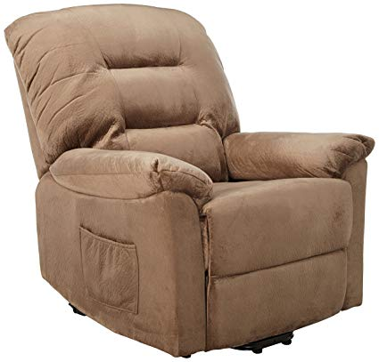 Amazon.com: Upholstery Power Lift Recliner Brown Sugar: Kitchen & Dining