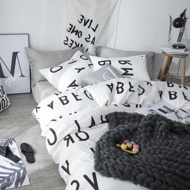 Bed Sheet Duvet Cover Boys Bedding Sets Cotton Bedclothes Duvet