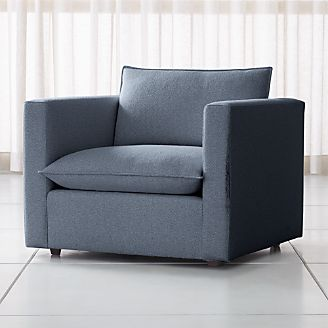 Living Room Chairs (Accent & Swivel)   Crate and Barrel