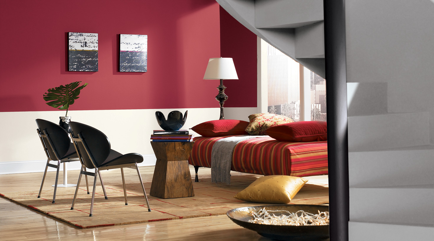 Living Room - Reds