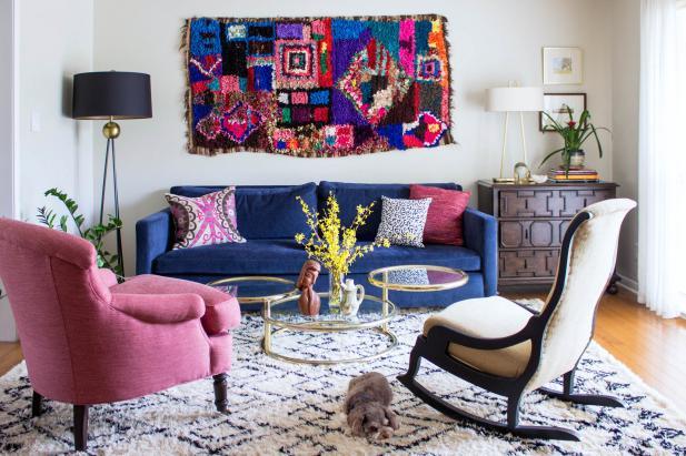 25 Living Room Color Palettes You've Never Tried | HGTV
