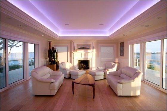 LED lighting | Home in 2019 | Living room lighting, Home lighting