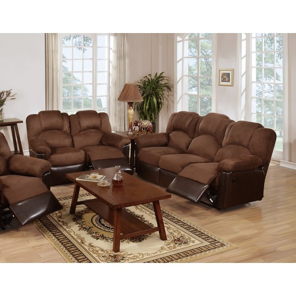 Red Barrel Studio Ingaret Reclining Living Room Set & Reviews | Wayfair