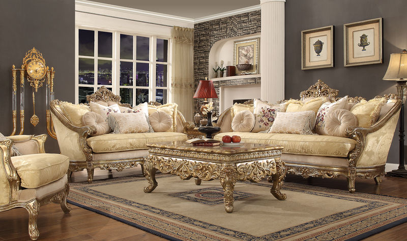 Dallas Designer Furniture | Kingsbury Formal Living Room Set