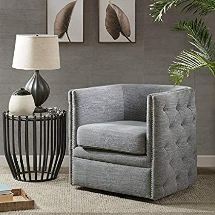 Amazon.com: Capstone Swivel Chair Slate See Below: Home & Kitchen