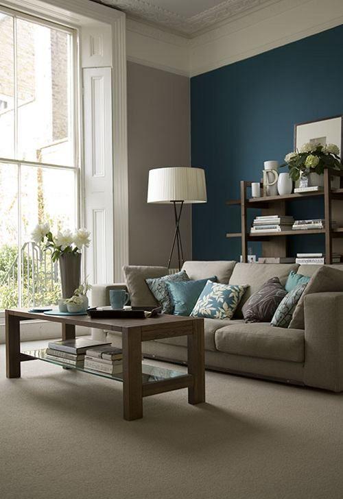 55 Decorating Ideas for Living Rooms | paint colors | Pinterest