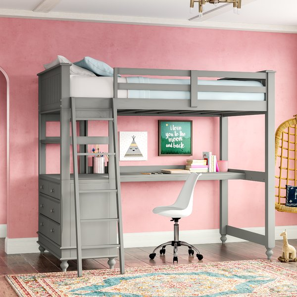 What Is a Loft Bed With Desk?