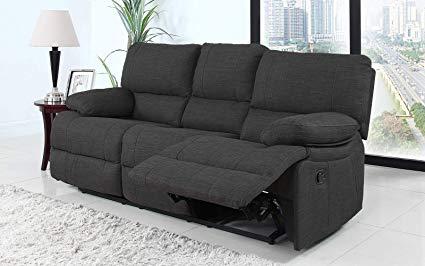 Amazon.com: Divano Roma Furniture Classic and Traditional Dark Grey