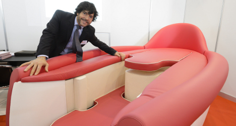 Love-making couch' unveiled at Geneva inventions show - The Local