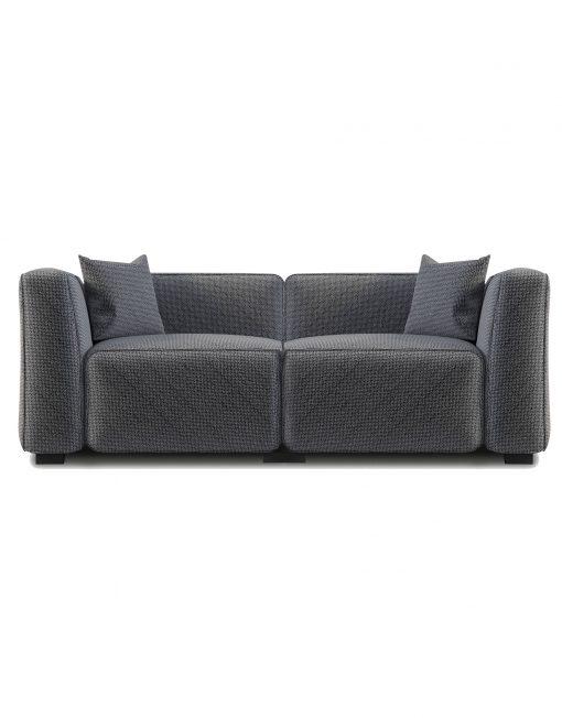 The Soft Cube: Love Seat 2 person Sofa | Expand Furniture - Folding