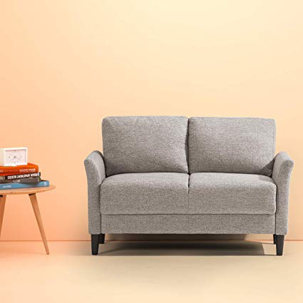 Amazon.com: Zinus Jackie Classic Upholstered 53.5 Inch Sofa Couch