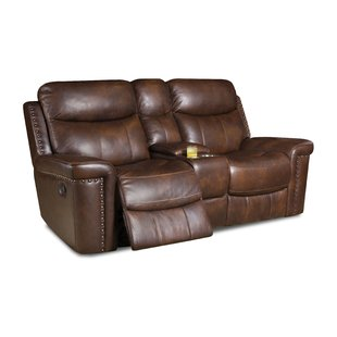 Real Leather Recliner Loveseat | Wayfair