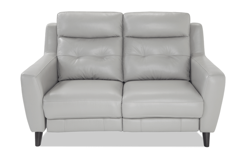 Stratus Leather Power Reclining Loveseat | Bobs.com