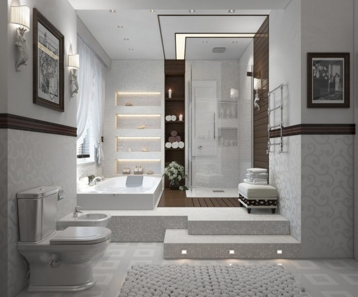 Luxury Bathrooms with Spa's Touch | Maison Valentina Blog