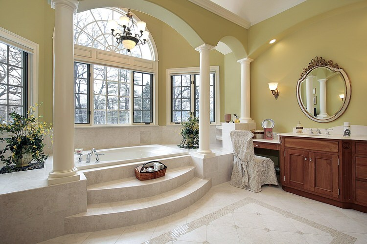 42 Jaw-Dropping Luxury Bathrooms (PICTURES 😍)