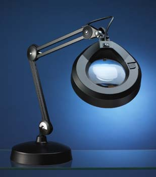 Magnifying Lamps | LS&S, LLC - Luxo 5D Illuminated Magnifying Lamp