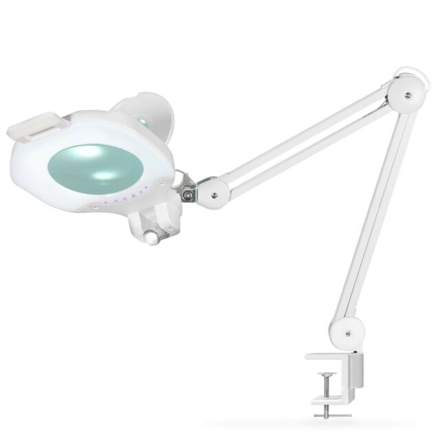 LED Magnifier Lamp Ohuhu Ultra 81 LED Dimmable Desk Table Pro