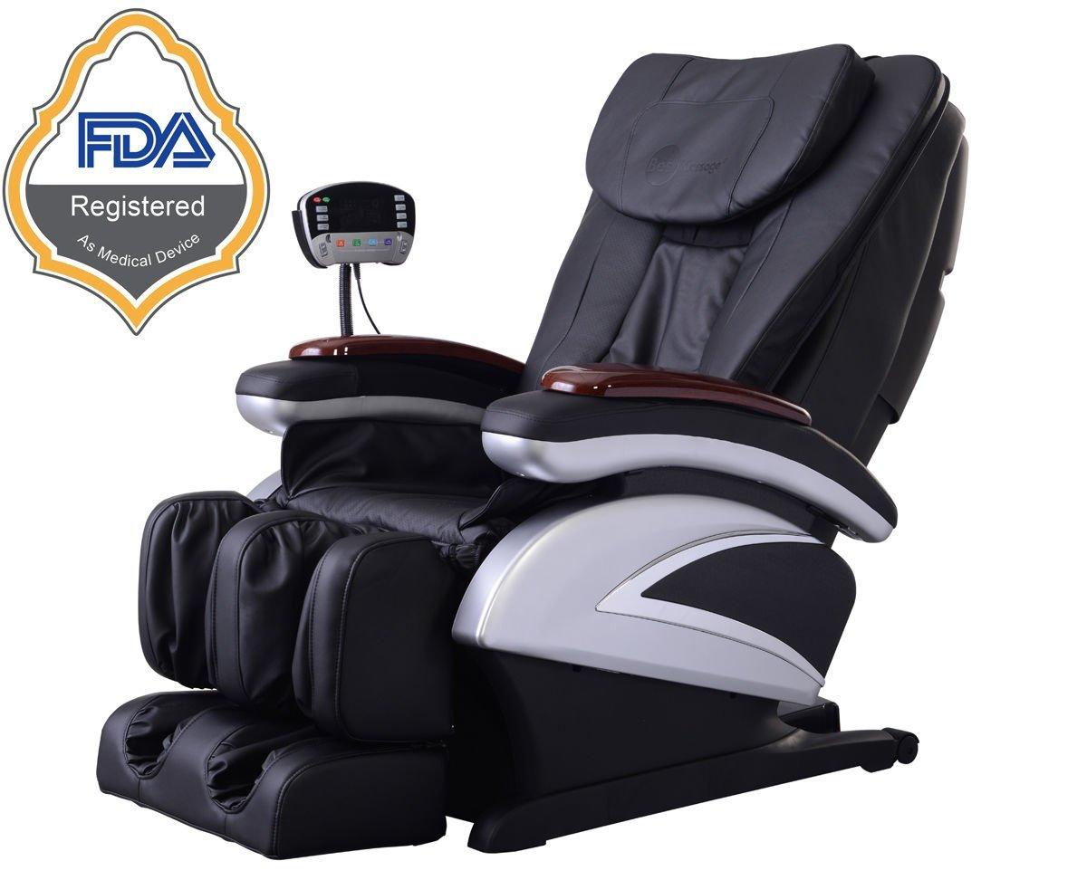 BestMassage Electric Full Body Shiatsu Massage Chair Recliner w/Heat