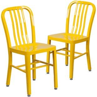 Modern Yellow Dining Chairs   AllModern