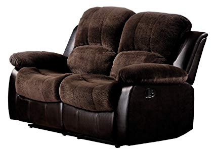 Amazon.com: Homelegance 9700FCP-2 Double Reclining Loveseat Plush
