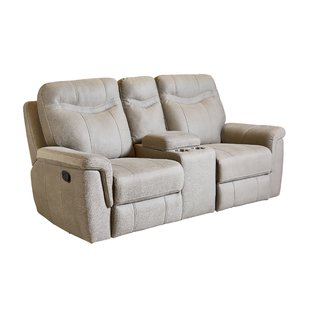 Microfiber Reclining Loveseats You'll Love | Wayfair