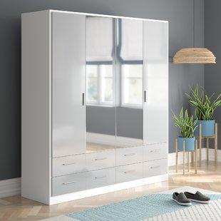 Mirrored Wardrobes You'll Love | Wayfair.co.uk