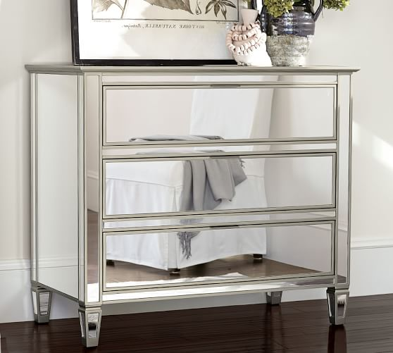 Park Mirrored Dresser | Pottery Barn
