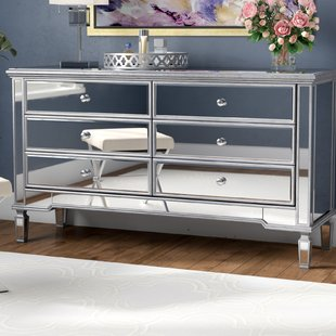 Small Mirrored Dresser | Wayfair