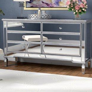 Small Mirrored Dresser | Wayfair