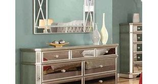 Mirrored Dressers You'll Love   Wayfair