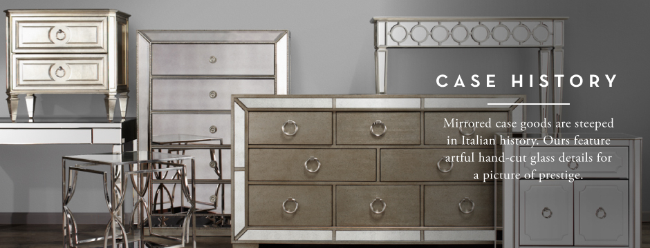 Mirrored Furniture | Mirrored Dressers & Tables | Z Gallerie