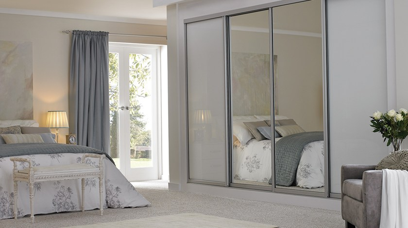 Sliding Wardrobes Mirrored Arch | Fitted Wardrobes from Betta Living