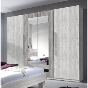 Grey Mirrored Wardrobes You'll Love | Wayfair.co.uk