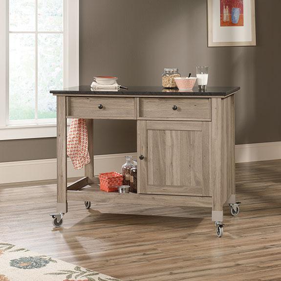 Sauder (417089) Mobile Kitchen Island u2013 Sauder - The Furniture Co.
