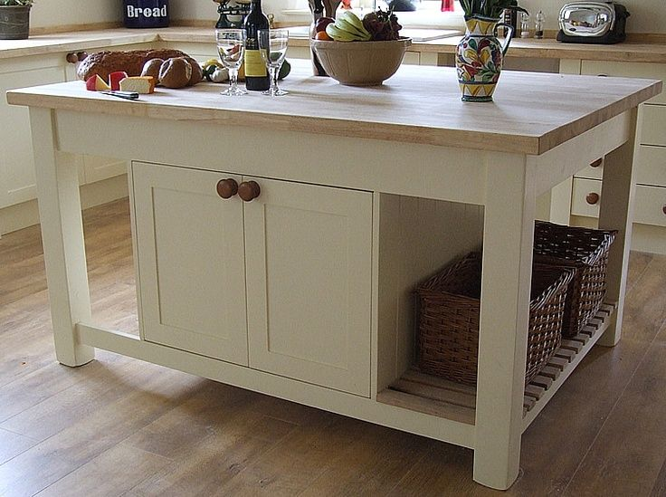 mobile kitchen island - Movable Kitchen Islands for Flexible Way