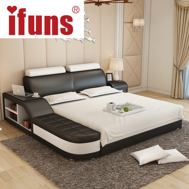 Name:IFUNS luxury bedroom furniture modern design king&queen size